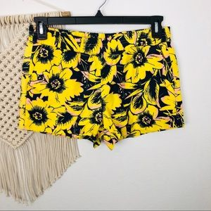 J.Crew Floral Pull On Shorts Size 6
